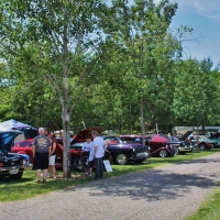 old car show