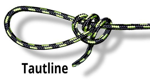 Tautline knot